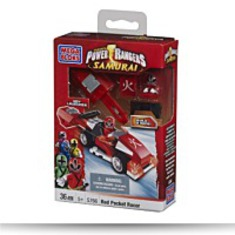 Power Rangers Red Pocket Racer