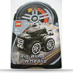 Racers Tiny Turbos 8658 Big Bling Wheelie