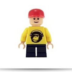 Spritle Lego Speed Racer Minifigure