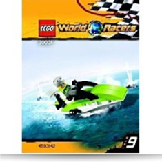 World Racers Set 30031 Powerboat