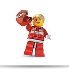 Minifigures Series 3 Race Car Driver